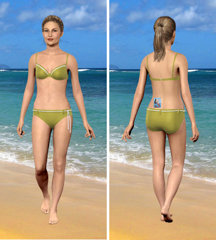 My Virtual Model at Their Minimum Allowed Weight