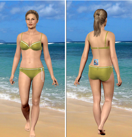 My Virtual Model at my College/Ideal Weight