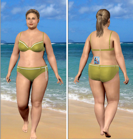 My Virtual Model at Their Maximum Allowed Weight